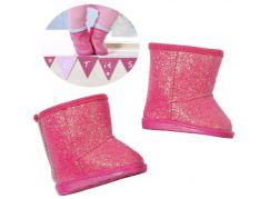 Baby Born Zimní sedmimílové boty růžové