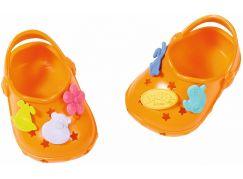 BABY born® Gumové sandálky oranžové