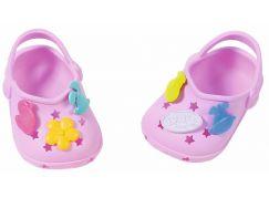 BABY born® Gumové sandálky Světle fialové