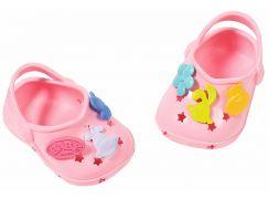 BABY born® Gumové sandálky Světle růžové