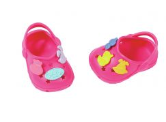 BABY born® Gumové sandálky Tmavě růžové