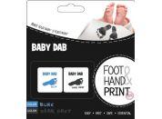 Baby Dab Barva na dětské otisky 2 ks modrá šedá