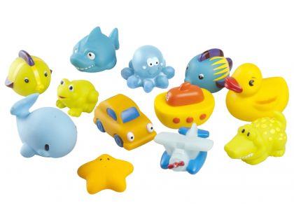 Babymoov Hračky do vody 12ks Boy set