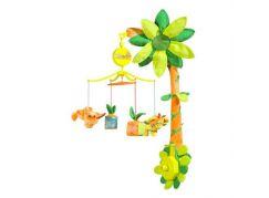 Babymoov Hrající kolotoč jungle orange 2