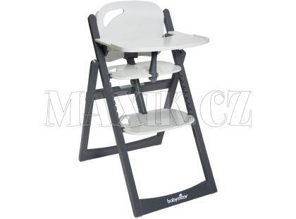 Babymoov Jídelní židlička Light Wood Zinc/Alu