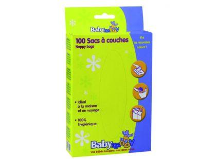 Babymoov Jednorázové sáčky na použité plenky 100ks