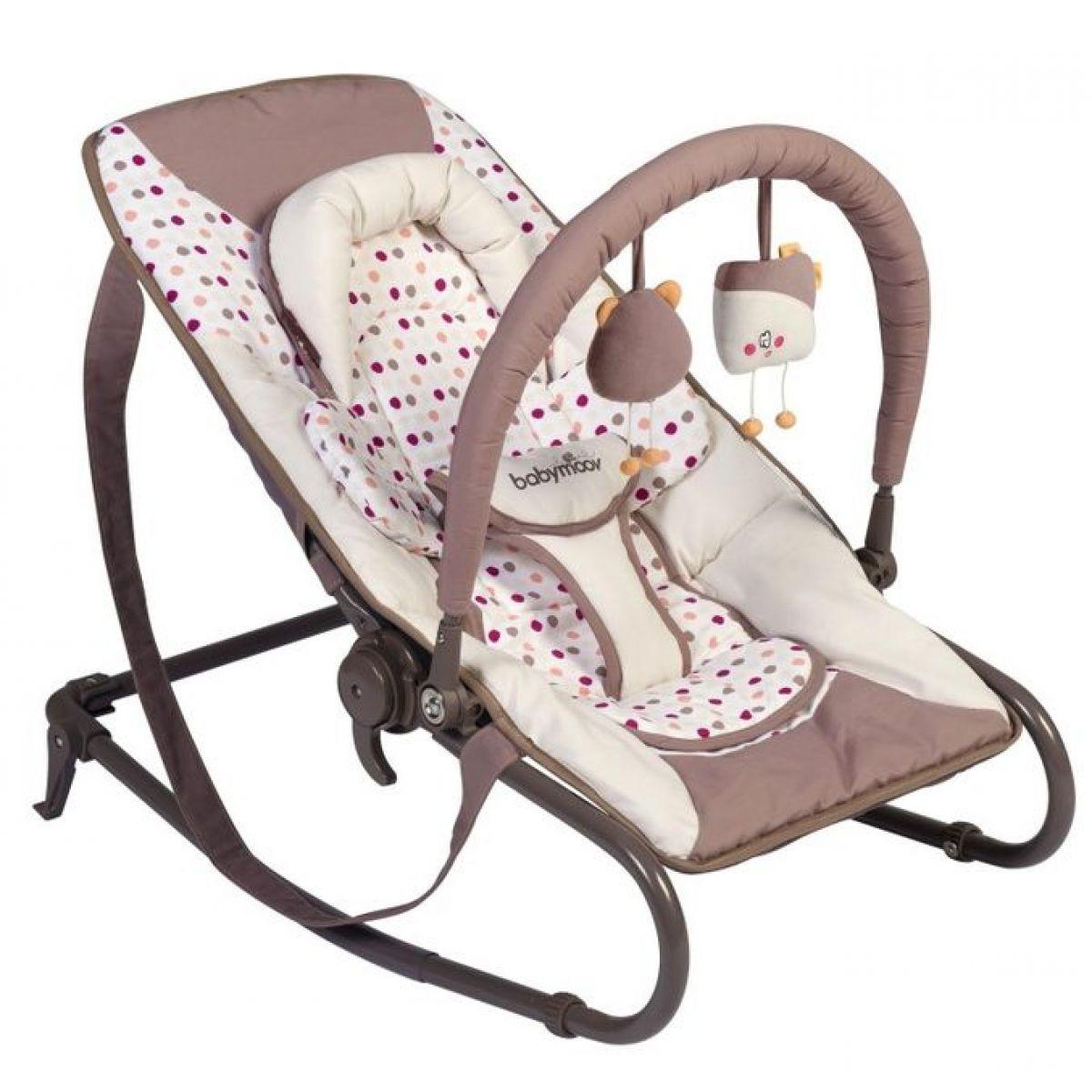 Babymoov Lehačka Bubble Simple Brown/Pink