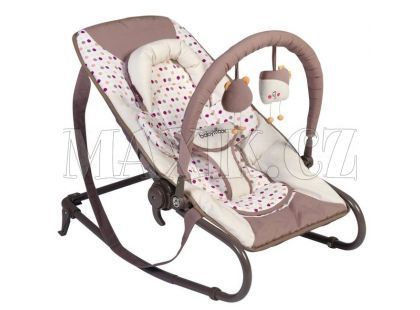 Babymoov Lehačka Bubble Simple Brown/Pink