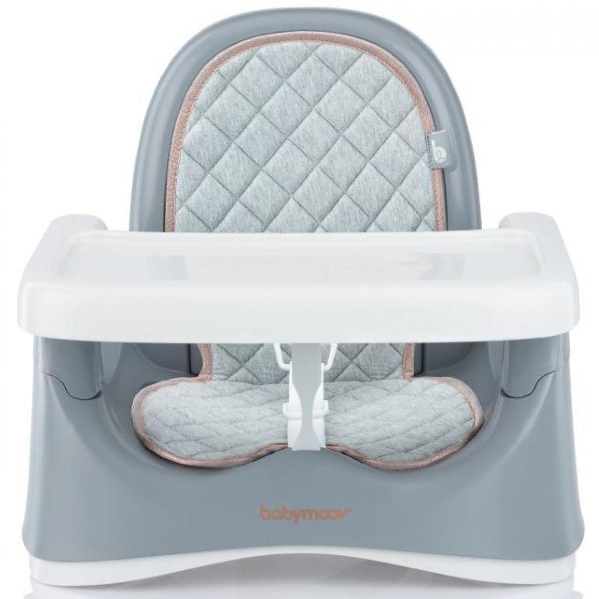 Babymoov plastová přenosná židlička Compact Seat SMOKEY