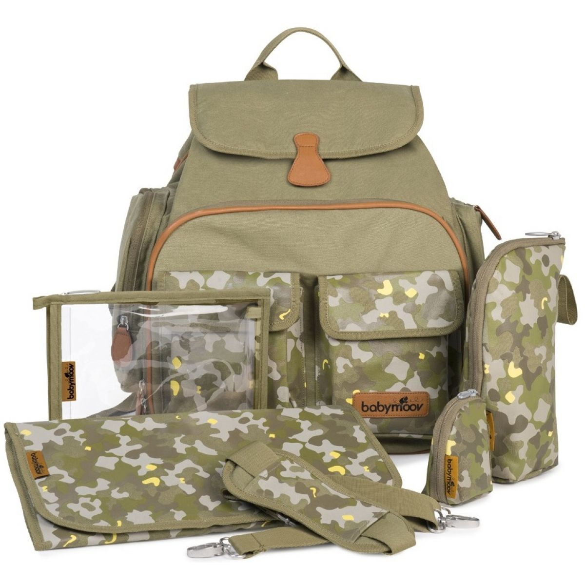 Babymoov Přebalovací batoh Glober Bag Camouflage