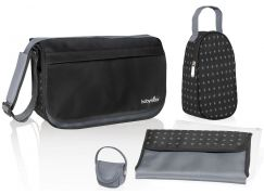 Babymoov Přebalovací taška Messenger Bag Black