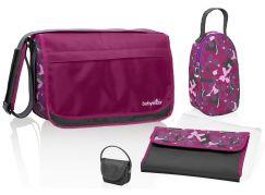 Babymoov Přebalovací taška Messenger Bag Hibiscus