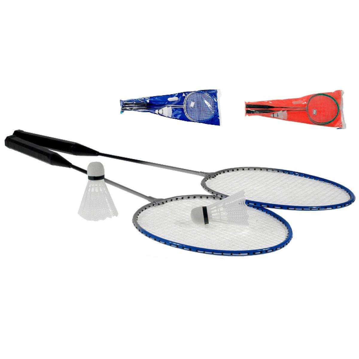 Badminton set 2ks raketa + 2ks košíček v PVC tašce