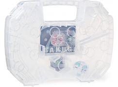 Bakugan sběratelský kufřík bílý průhledný