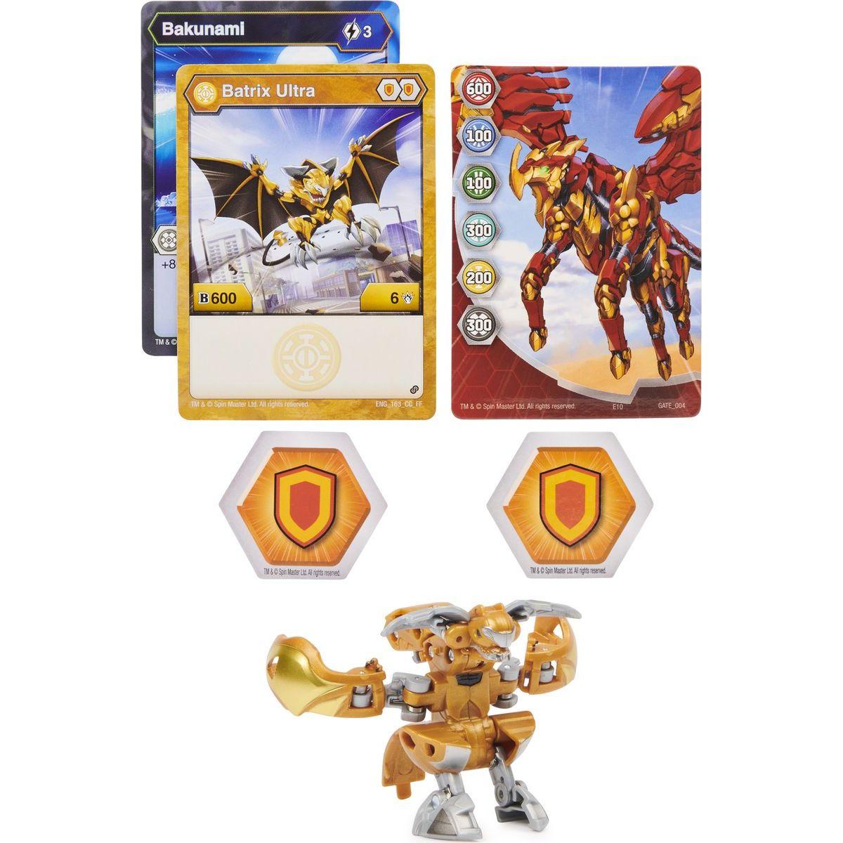 Bakugan ultra balení s2 Batrix zlatý