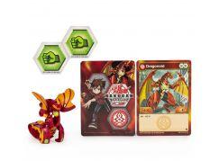 Bakugan základní balení s2 Dragonoid červený