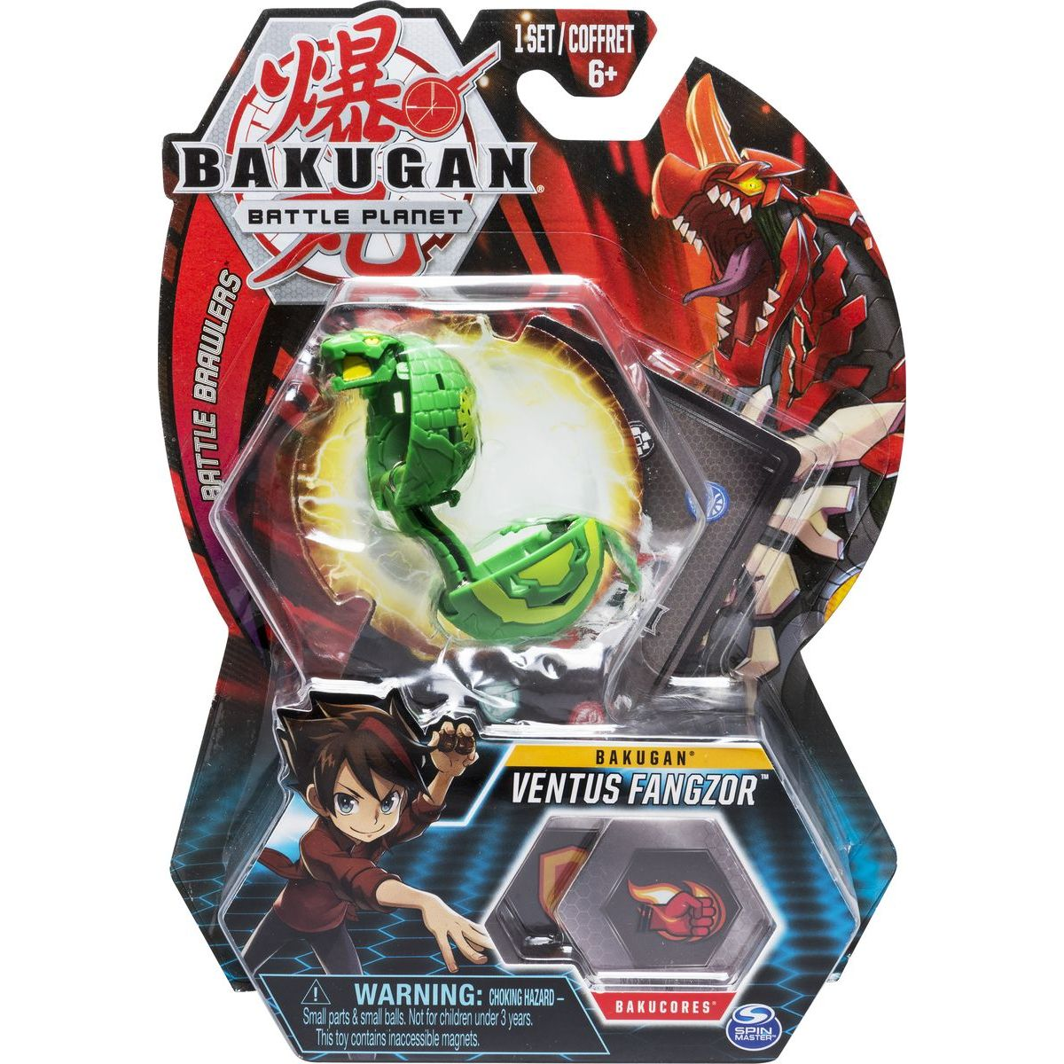 Bakugan základní balení Ventus Fangzor