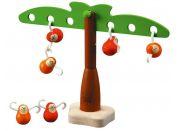 Balancující opičky na palmě Plan Toys