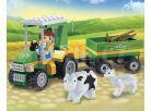 Banbao Farma 8586 Farmářský traktůrek s vlečkou 3