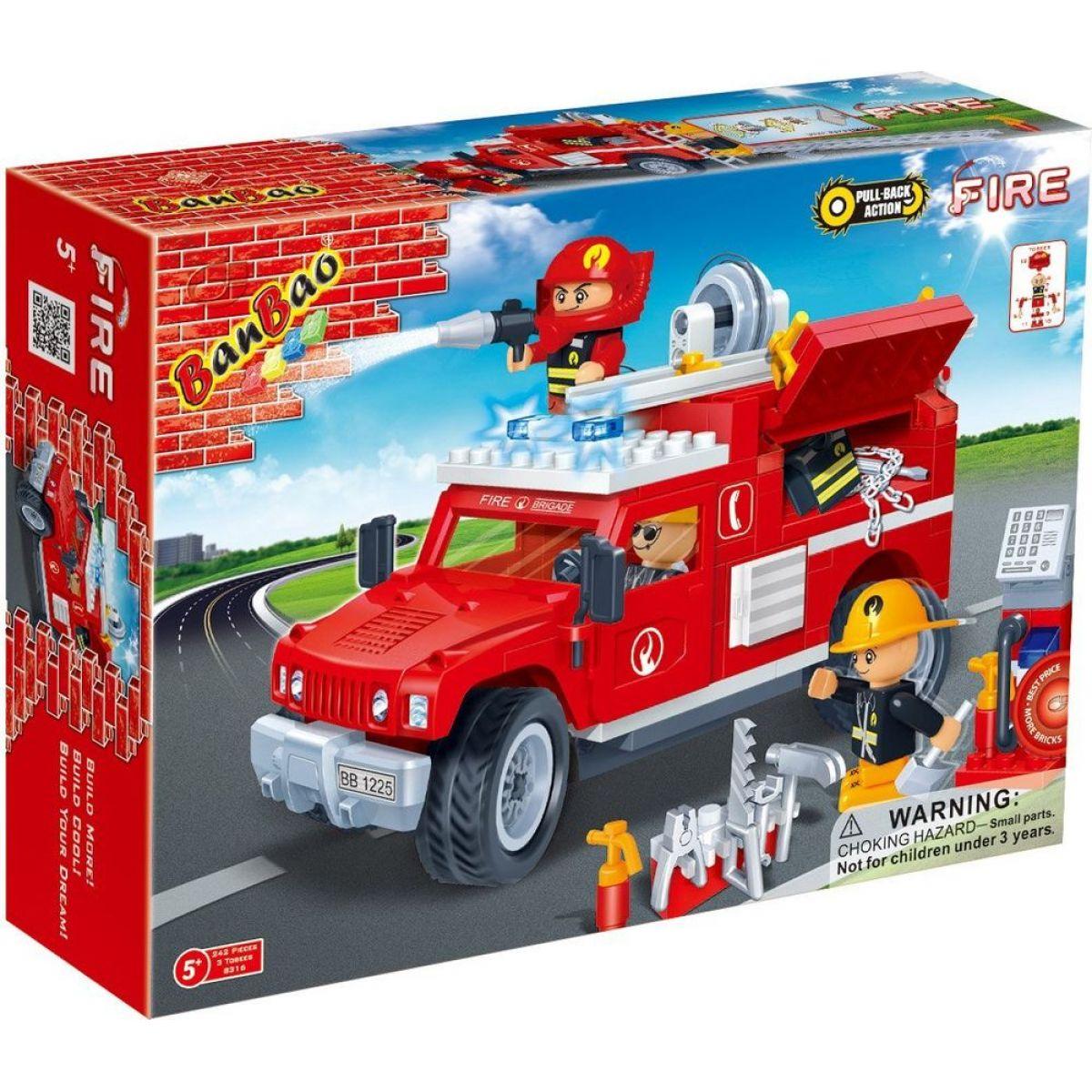 Banbao Hasiči 8316 Hasičský jeep
