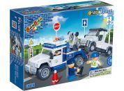Banbao Policie 8345 Policejní odtahovka