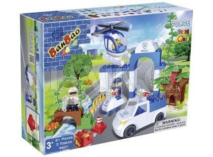 Banbao Policie 9601 Maxi Policejní stanice