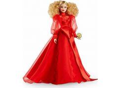 Barbie 75. výročí Mattelu panenka běloška
