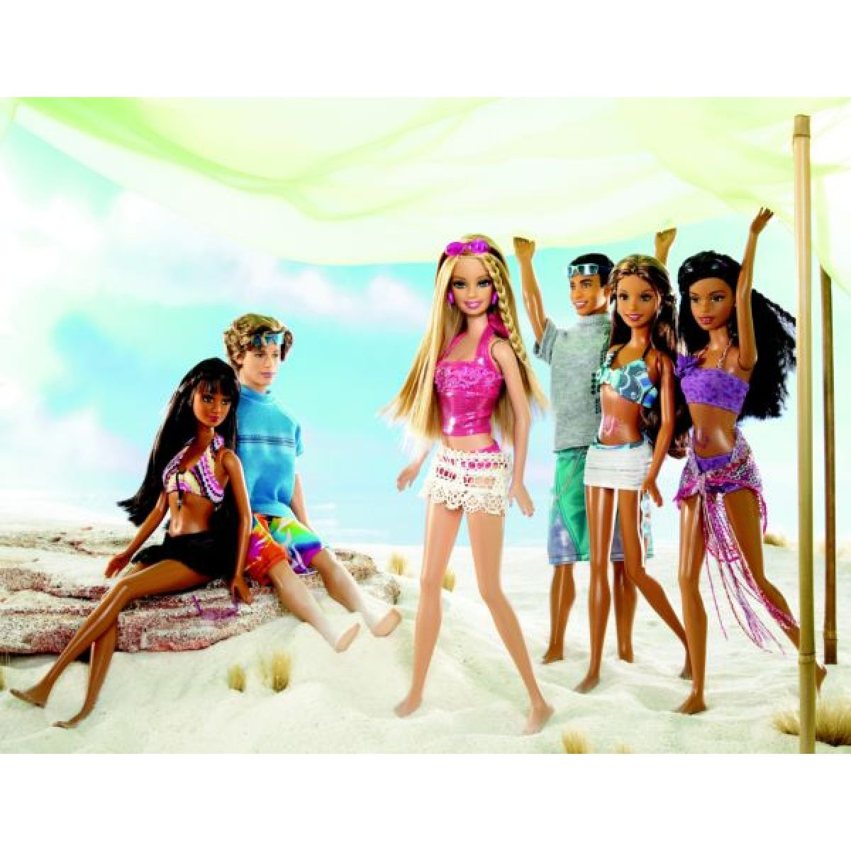 Barbie Beach Party Barbie Mattel