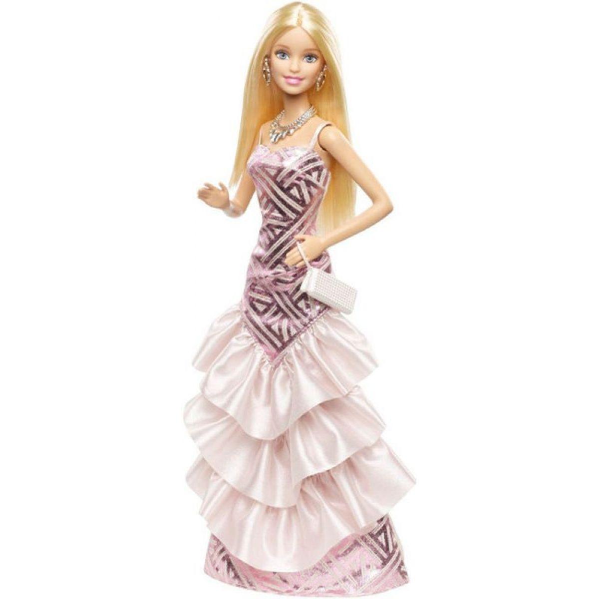 BARBIE BFW16 Růžová párty - šaty CHH06