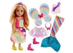 Mattel Barbie Chelsea Pohádkové oblečky mořská panna