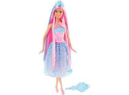 Barbie Dlouhovláska - Růžové vlasy