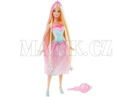 Barbie Dlouhovláska - Blond vlasy