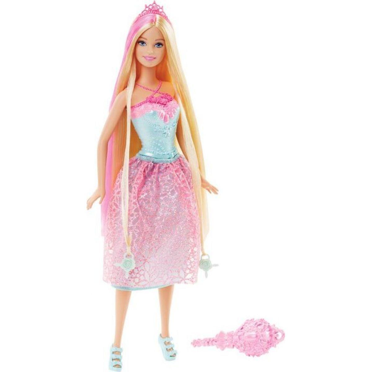 Mattel Barbie Dlouhovláska - Blond vlasy