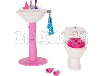 Barbie DXR91 Nábytek - DTJ69 Toaleta