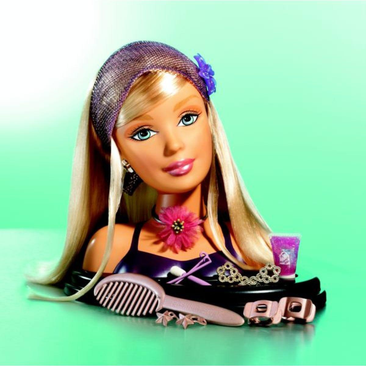 Barbie Fashion Fever česací hlava Mattel