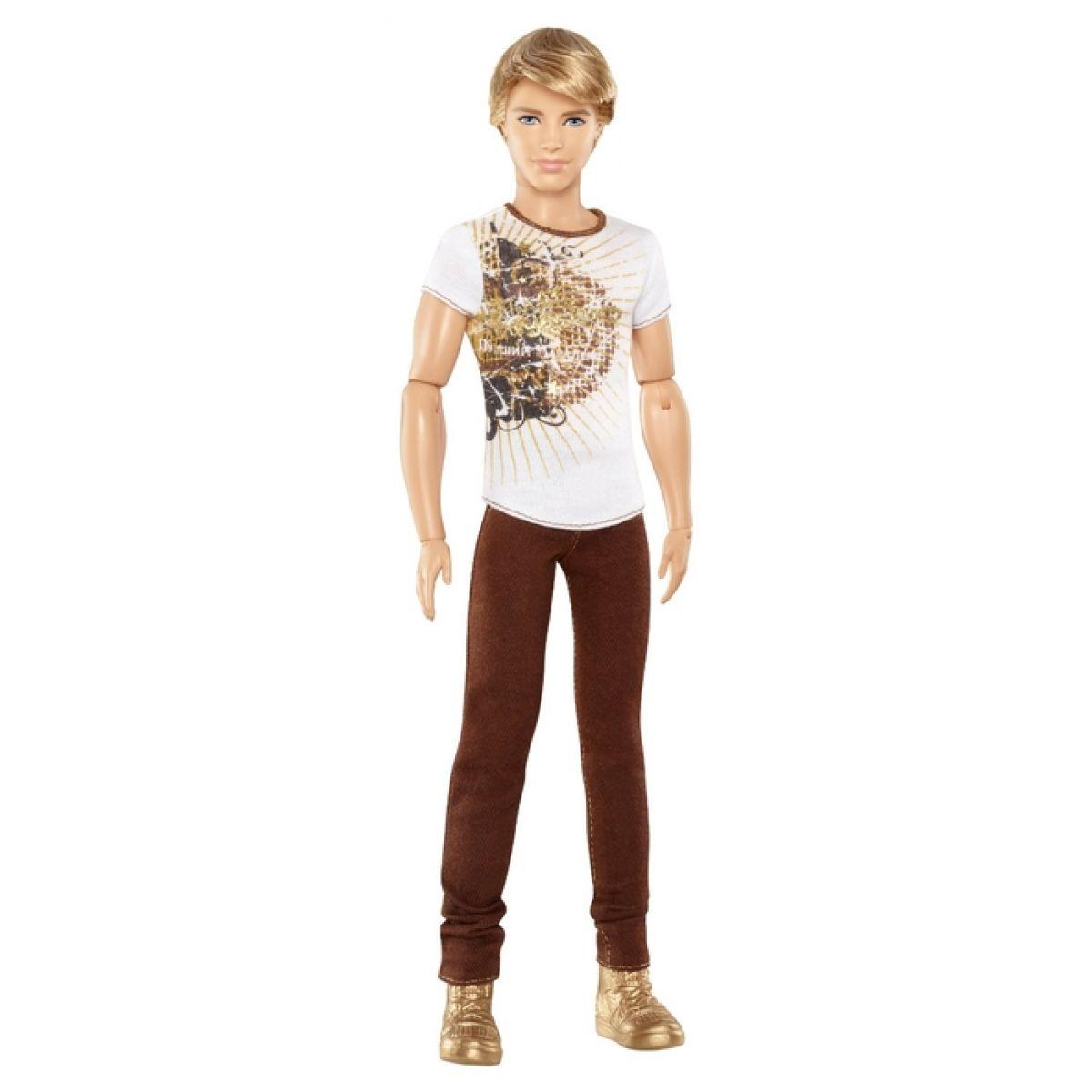Barbie Fashionistas Ken - Hnědé kalhoty