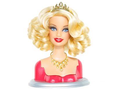 Barbie Fashionistas SS hlava T9123 - Glam