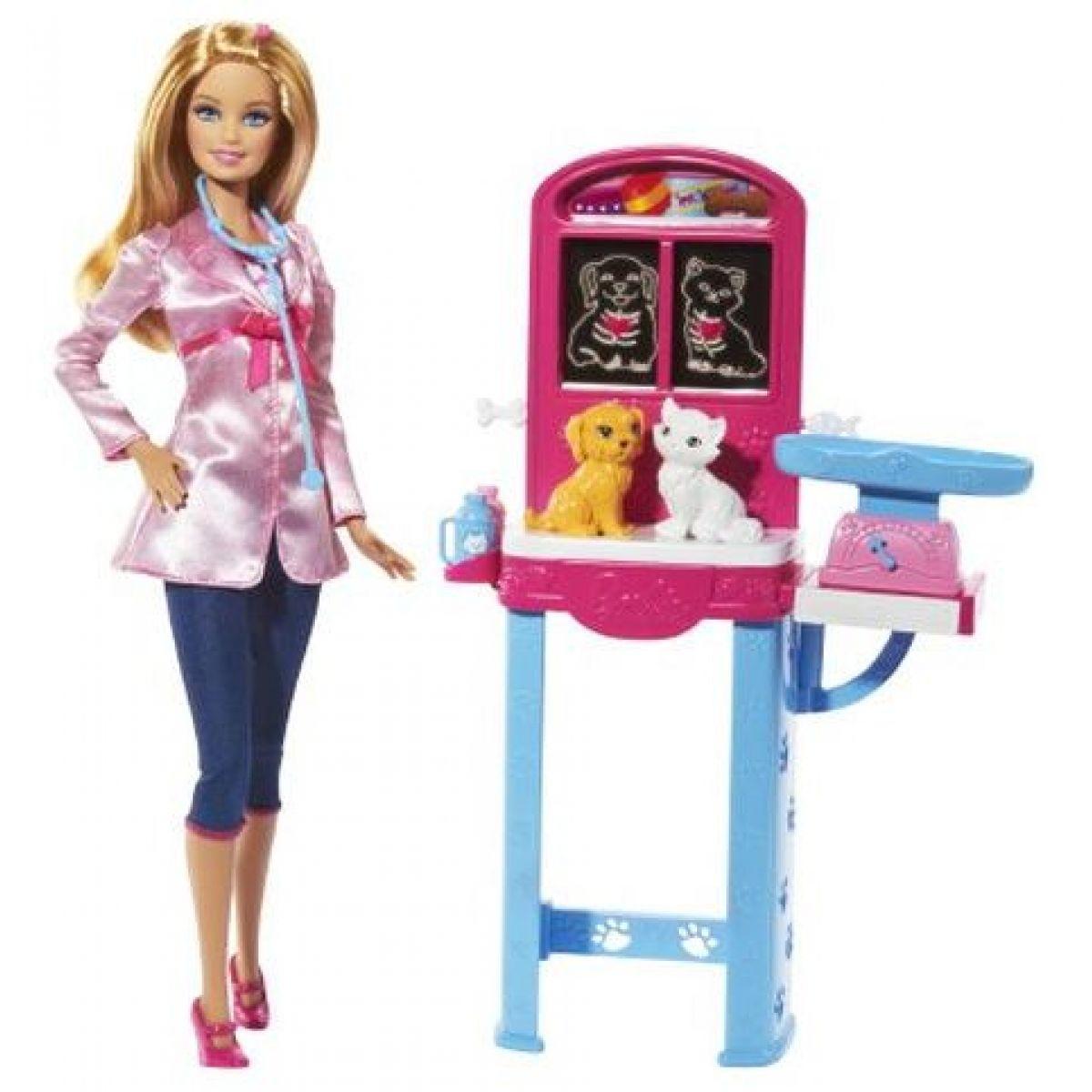 Barbie Hrací souprava - Veterinářka