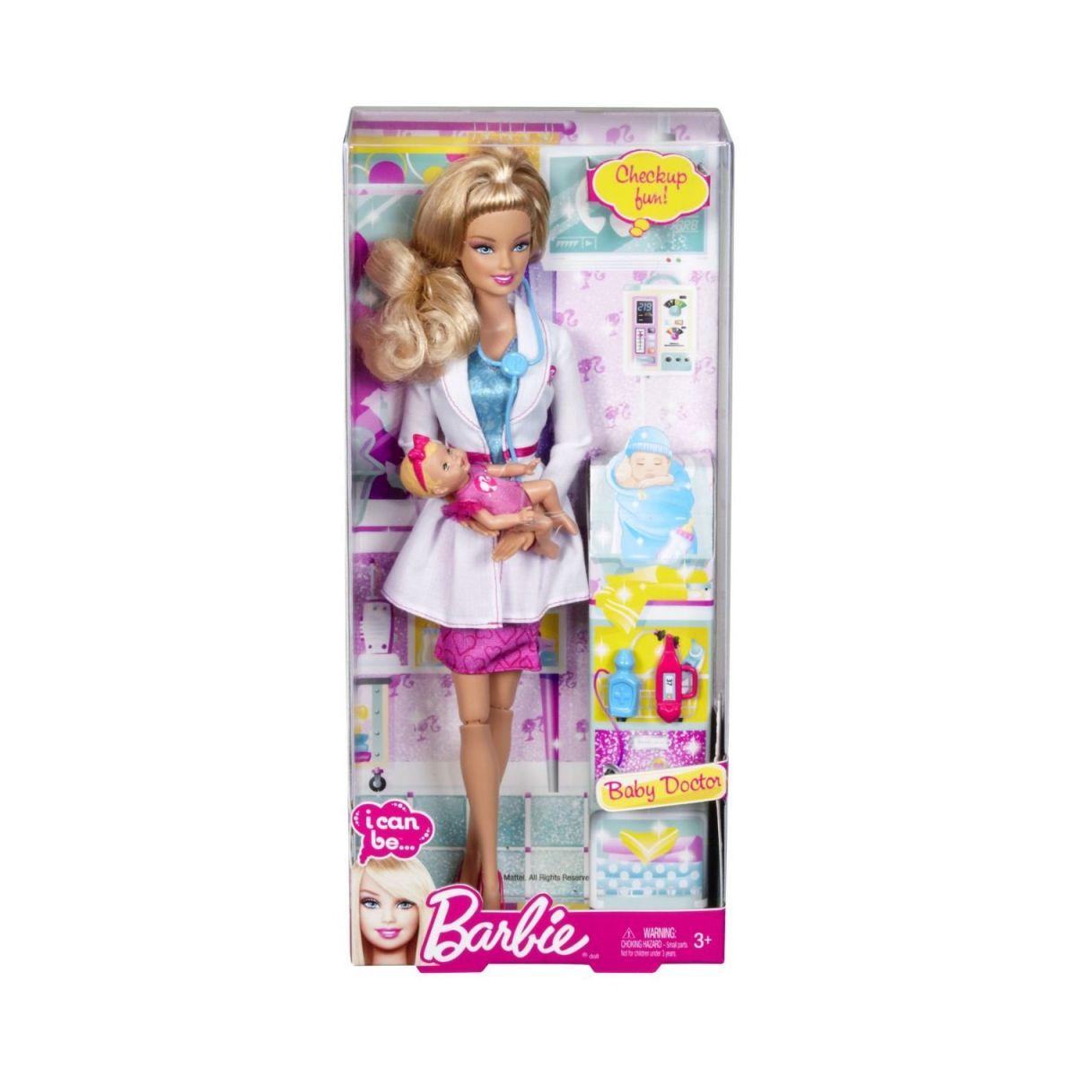 Barbie I can be panenka - Lékařka
