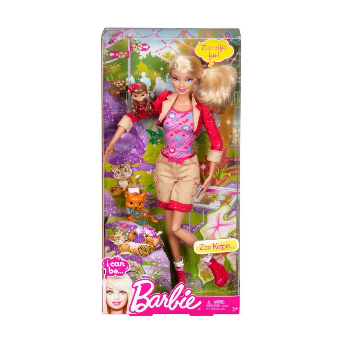 Barbie I can be panenka - Ošetřovatelka
