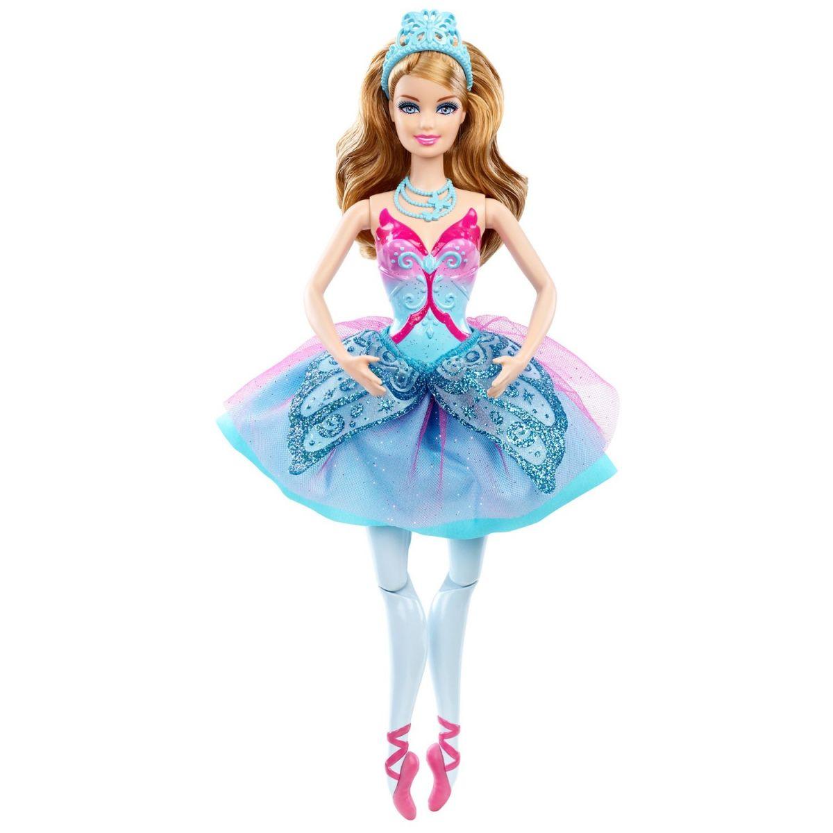 Barbie Kamarádka baletka - Giselle modrá