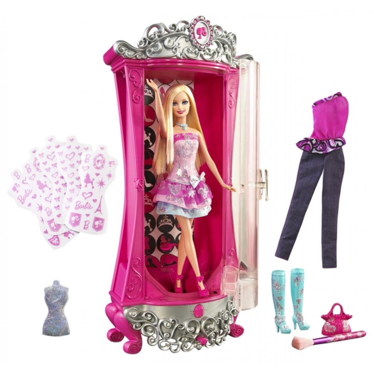 Barbie KMS Kouzelná šatna s panenkou Mattel V1644