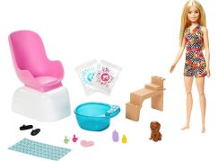 Barbie manikúra pedikúra herní set