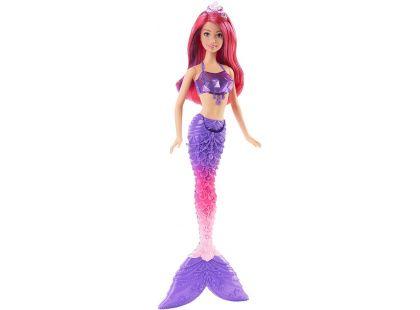Barbie Mořská panna 34cm - Fialovo-růžové vlasy