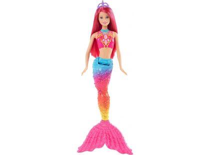 Barbie Mořská panna 34cm - Růžové vlasy