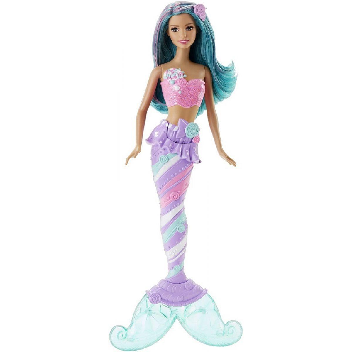 Barbie Mořská panna 34cm - Tyrkysové vlasy