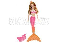 Barbie Mořská panna kamarádka - Hnědovláska růžová