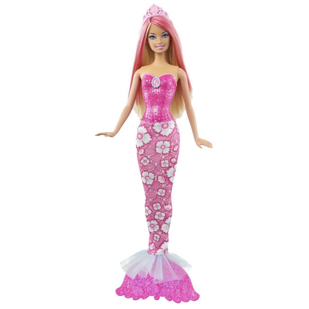 Barbie Mořská panna měnitelné prvky X9452 - Blondýnka
