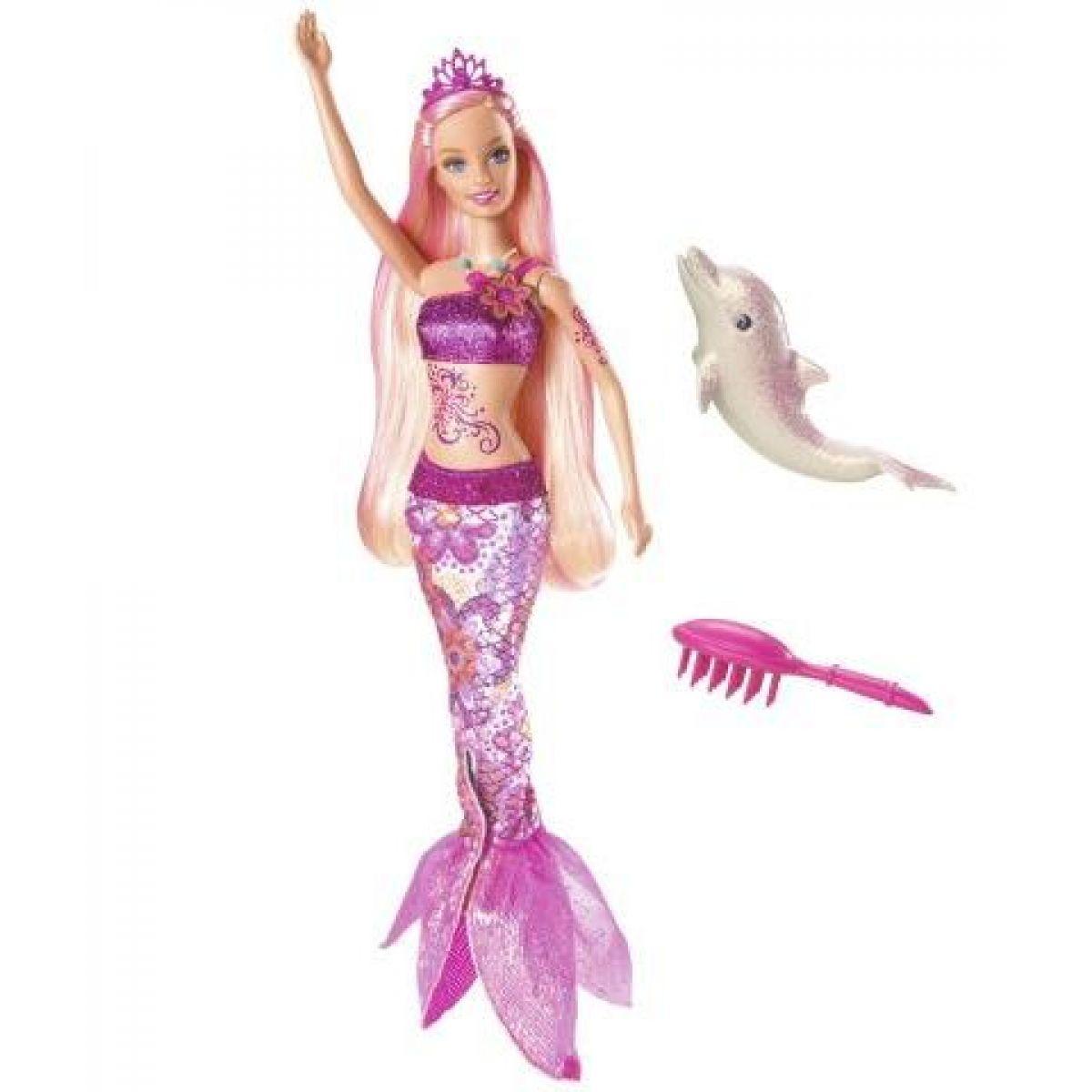 Barbie mořská víla V8661