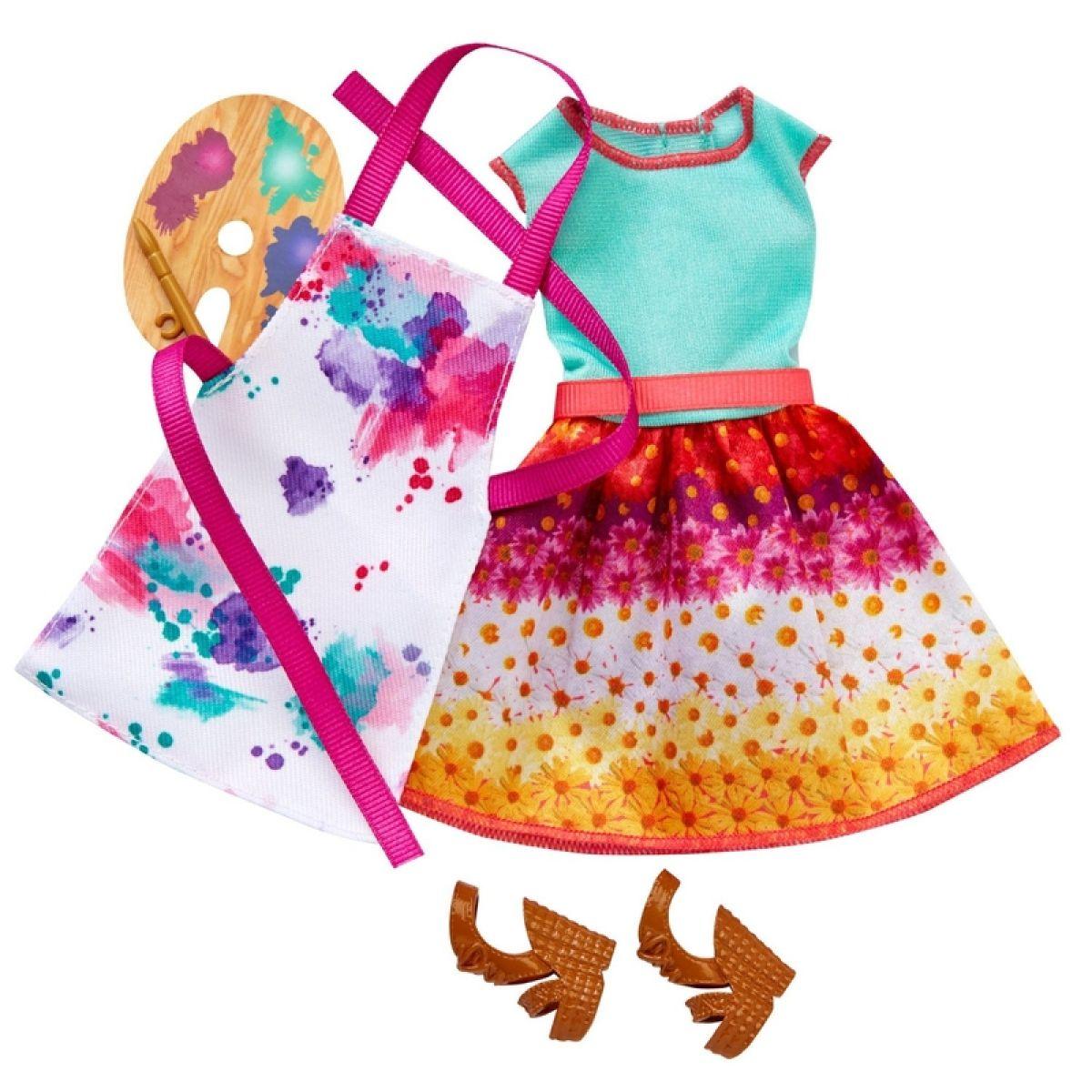 Barbie Oblečky do práce - Učitelka umění